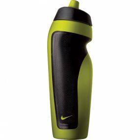 Зелёная спортивная бутылка для воды Nike sport water bottle