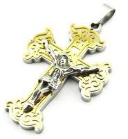 Нательный крест ажурный