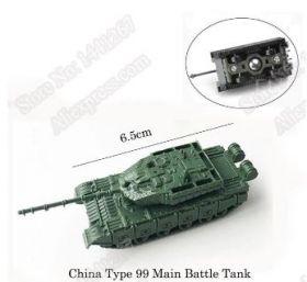 Модель танка  Тип 99 - китайский танк 1:144