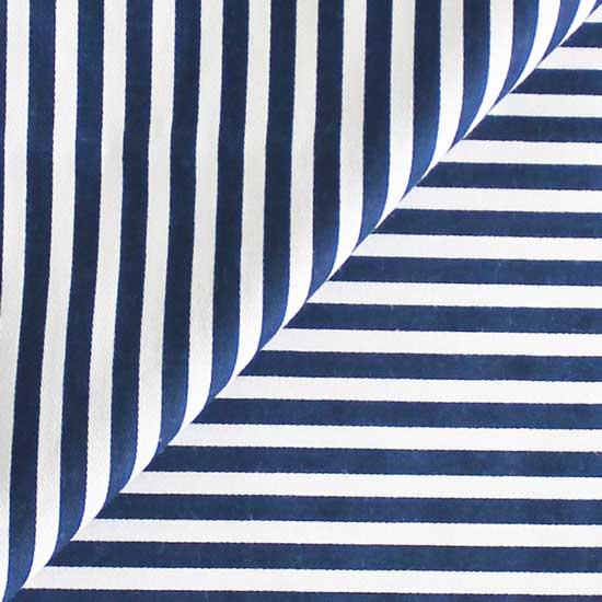 Ткань Хлопок Синяя полоска 25x75