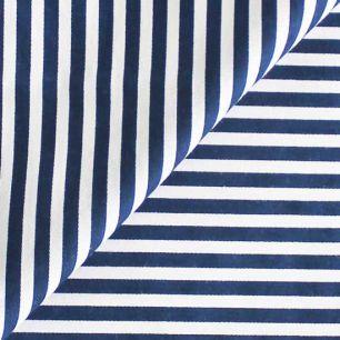 Ткань Хлопок Синяя полоска 50x40