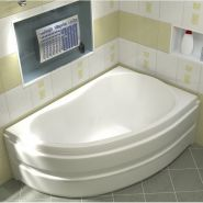 Акриловая ванна BAS Алегра 150x90 правая без гидромассажа