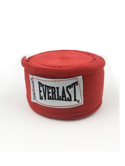 Бинты боксерские EVERLAST 3.5м Elastic, красные,  артикул 4464RD