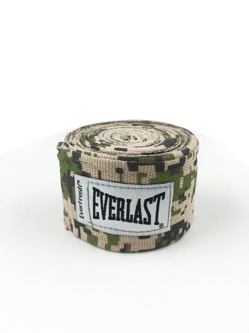 Бинты боксерские EVERLAST 3.5м Elastic, камуфляжные,  артикул 4464CAMO