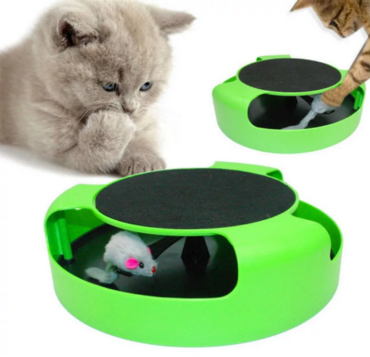 Интерактивная игрушка для кошек Поймай Мышку Catch The Mouse