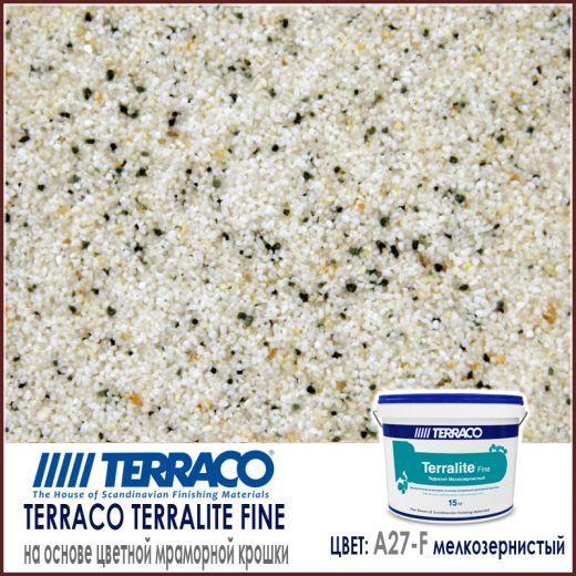 Terralite fine (мелкозернистый) цвет A27-F