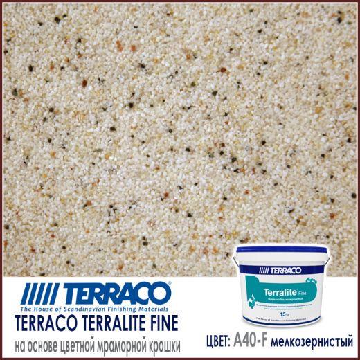 Terralite fine (мелкозернистый) цвет A40-F