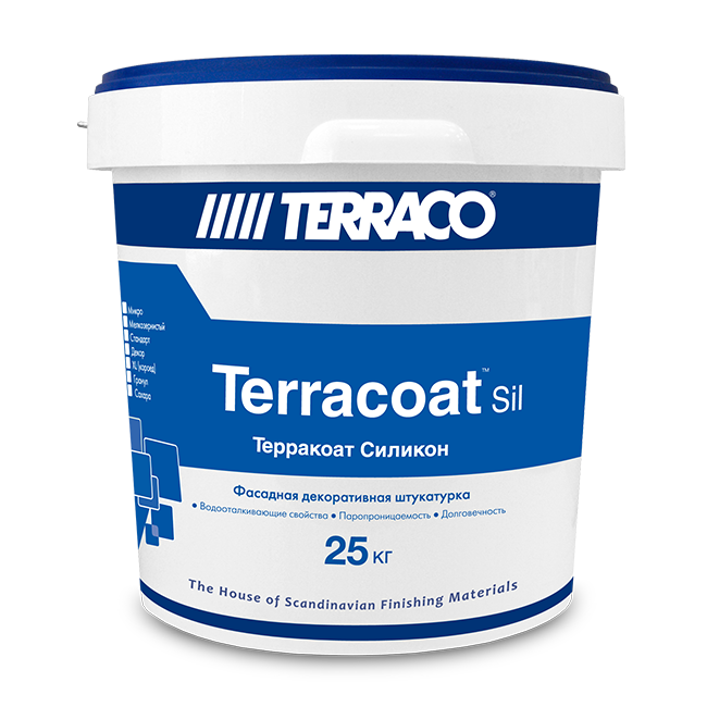 Terraco terracoat silicone BT