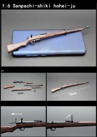 Сувенирная сборная модель винтовка Мосина образца 1891 г 1:6