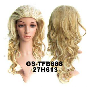 Искусственные термостойкие волосы Парик №027H613 (50 см) - 230 гр.