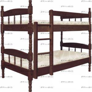 Кровать двухъярусная Скаут-2 №В