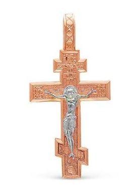 Позолоченный православный крест (арт. 788071)