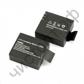 Аккум.для экшн-камер BC-01(900мА) (3.3*2.9*1.1см)