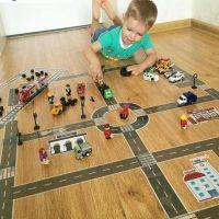 Игровой скотч с дорожной разметкой (3)