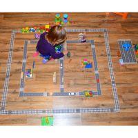 Игровой скотч с дорожной разметкой(2)