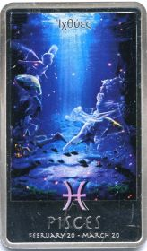 Знаки зодиака - Рыбы 2 доллара Ниуэ 2012