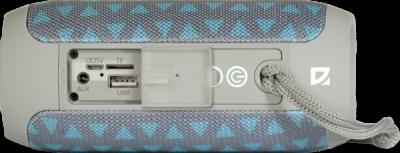 НОВИНКА. Портативная акустика Enjoy S700 синий, 10Вт, BT/FM/TF/USB/AUX