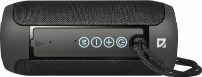 НОВИНКА. Портативная акустика Enjoy S700 черный, 10Вт, BT/FM/TF/USB/AUX