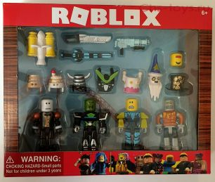 ROBLOX Роблокс 4 фигурки +12 акссесуаров
