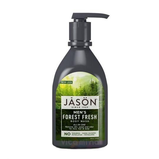 Jason Гель для душа «Лесная свежесть» Men All-in-One Body Wash - Forest Fresh, 887 мл