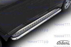 Подножки боковые, SL, алюминий + сталь ф 57мм