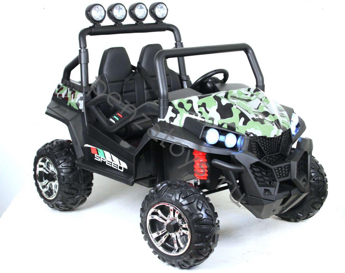 Детский электромобиль двухместный BUGGY T888TT-SPIDER 4*4