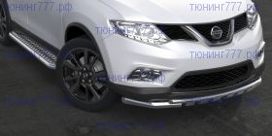 Защита переднего бампера, SL, сталь ф 57/42мм., а/м до 12.2018