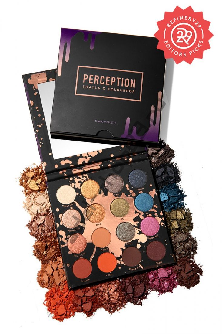 Colourpop - тени для век PERCEPTION