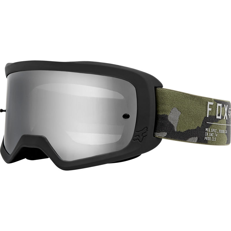 Fox - 2020 Main II Gain Camo очки, зеркальная линза