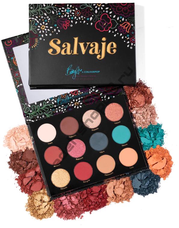 Colourpop - тени для век salvaje palette