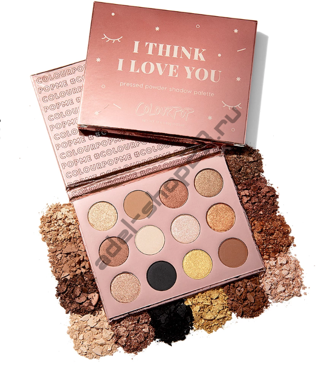 Colourpop - тени для век I THINK I LOVE YOU
