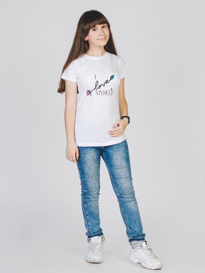 Ilovemyself футболка женская