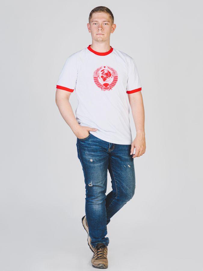 Герб СССР футболка мужская
