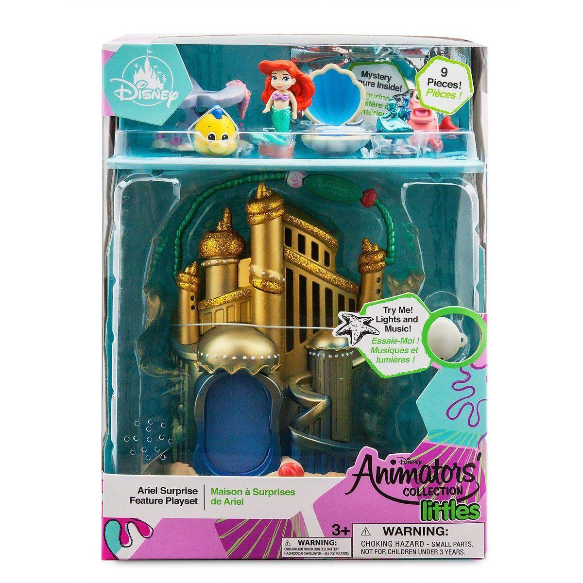 Набор замок и кукла Дисней русалочка Ариэль в детстве музыкальный