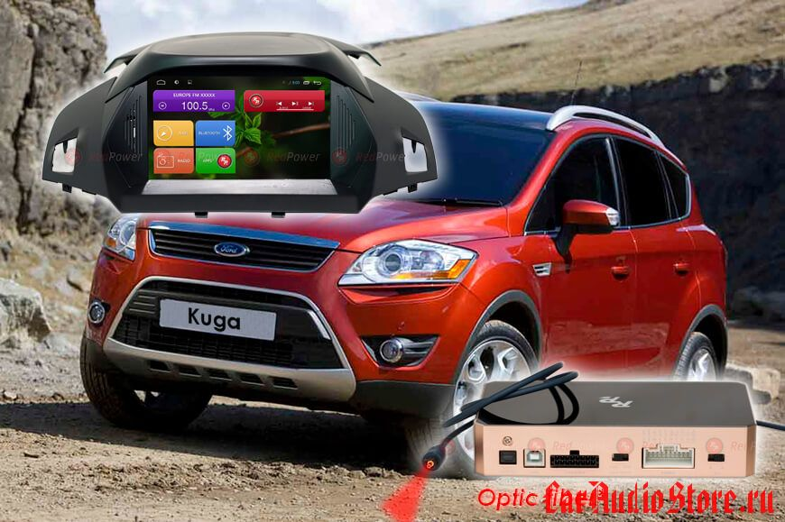 Ford Kuga 2 Redpower 31151 IPS DSP ANDROID 7