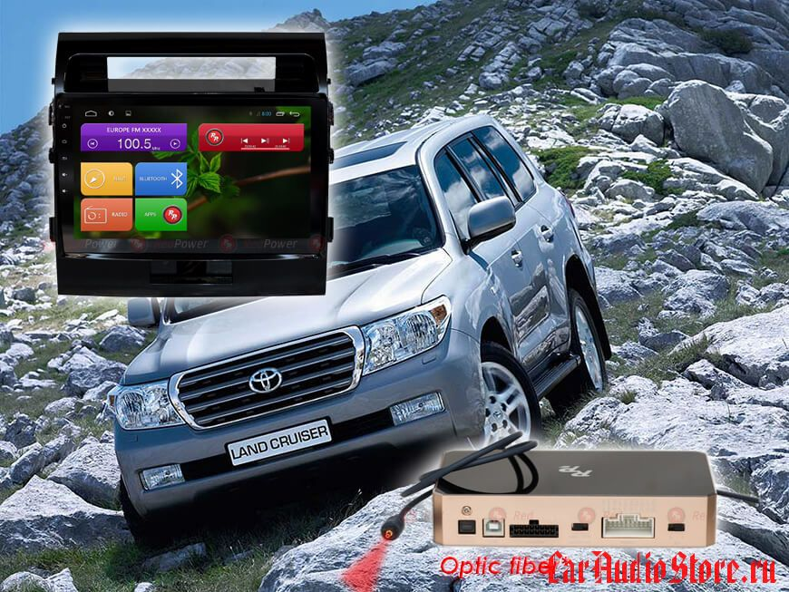 Toyota Land Cruiser 200 Redpower 31200 R IPS DSP ANDROID 7