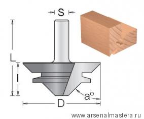 Фреза для углового сращивания 67x29.5x77.5x12 DIMAR 1490049