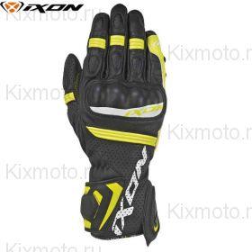 Перчатки Ixon Rs Tempo Air, Черный/желтый