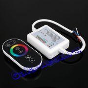 RGB Контроллер сенсорный для светодиодной ленты 220В RF 5 кнопка 5050 50 метров