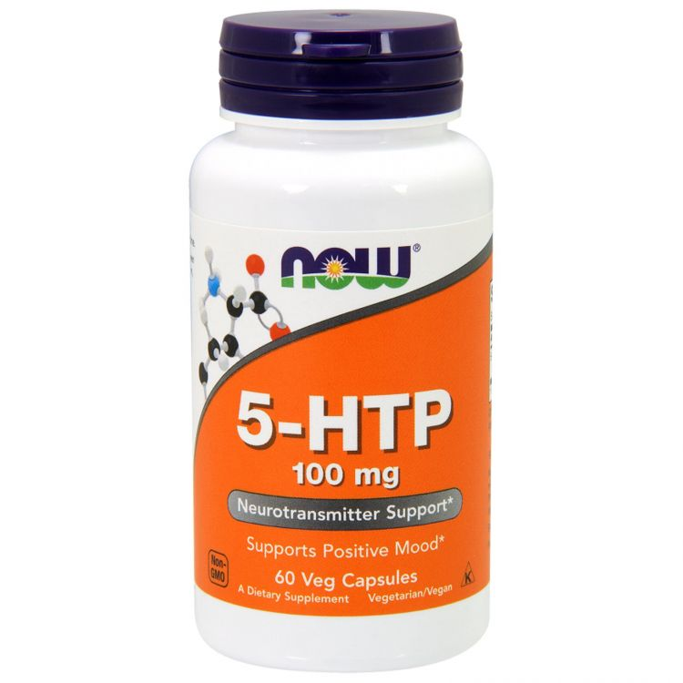 5-HTP 100 mg от NOW Foods 60 капсул