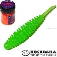 Мягкие приманки Kosadaka Leech 42 мм / упаковка 10 шт / Сыр / цвет: FG