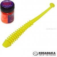 Мягкие приманки Kosadaka Array Fat 65 мм / упаковка 10 шт / Сыр / цвет: CH