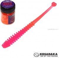Мягкие приманки Kosadaka Array 65 мм / упаковка 10 шт / Сыр / цвет: PN