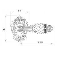 Ручка Mestre 0R7441.N. схема