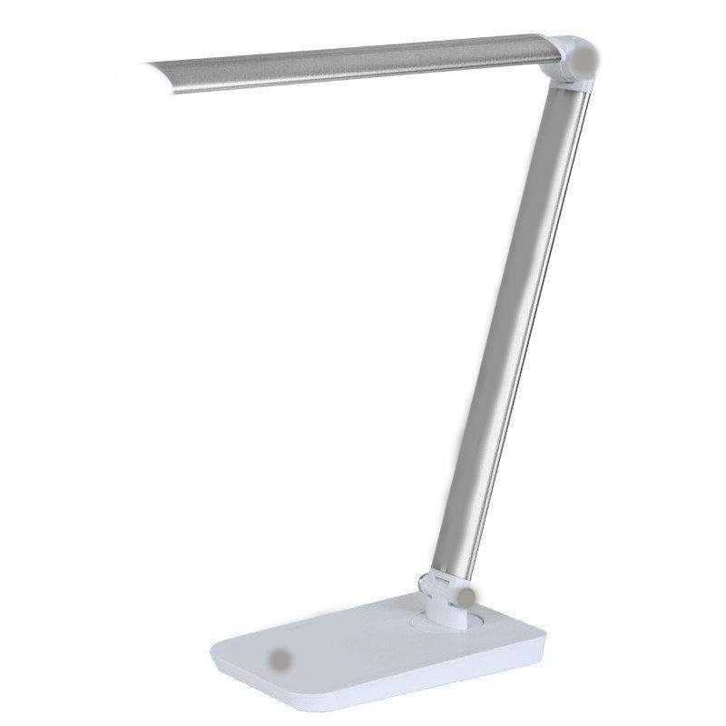 Настольная складная светодиодная лампа с тремя типами свечения (холодный,белый,теплый)