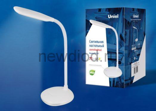 Светильник настольный светодиодный TLD-561 7W 450Лм 4500K Белый Uniel