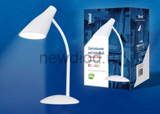 Светильник настольный светодиодный TLD-562 5W 360Лм 4500K сенсорный диммер Белый Uniel