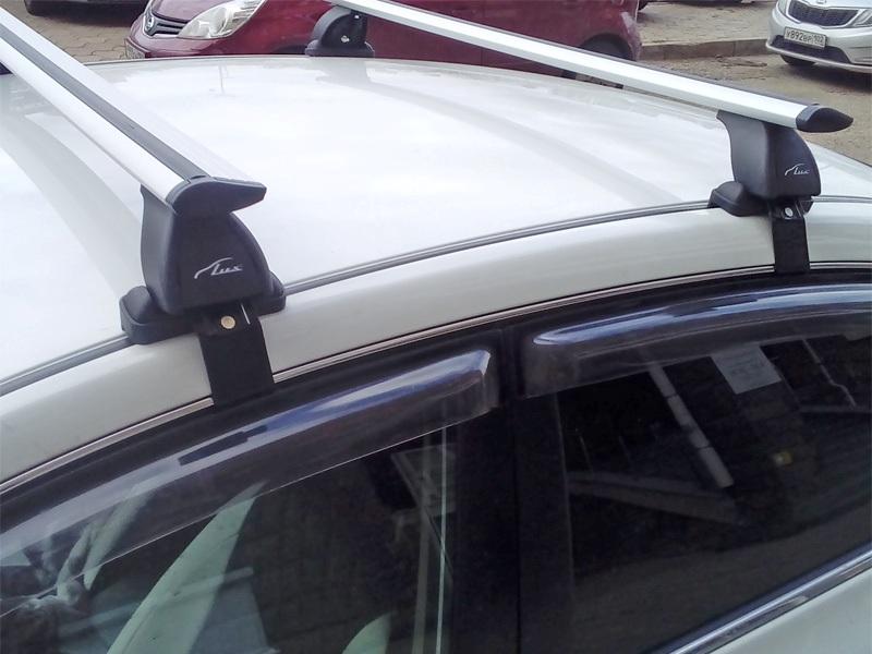 Багажник на крышу Nissan Sentra, Lux, крыловидные дуги