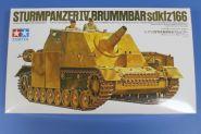 Самоходное орудие Sturmpanzer IV BRUMMBAR  с 2 фигурами