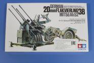 Четырехствольная зенитная 2см пушка Flakvierling 38